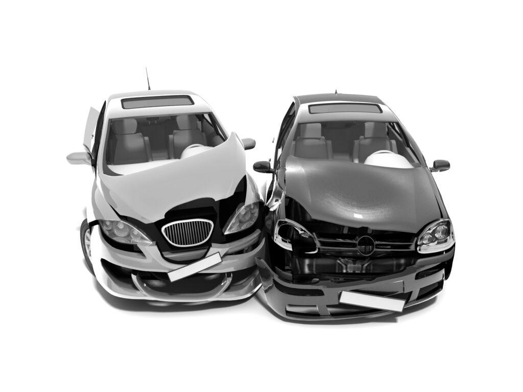 onverzekerde tegenpartij bij auto ongeval