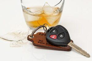 Alcohol en rijden met auto onder invloed